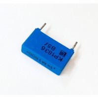 100pF 1600V 20% M Condensatore Poliestere 5x18x10mm passo 15mm - 3pz - ERO