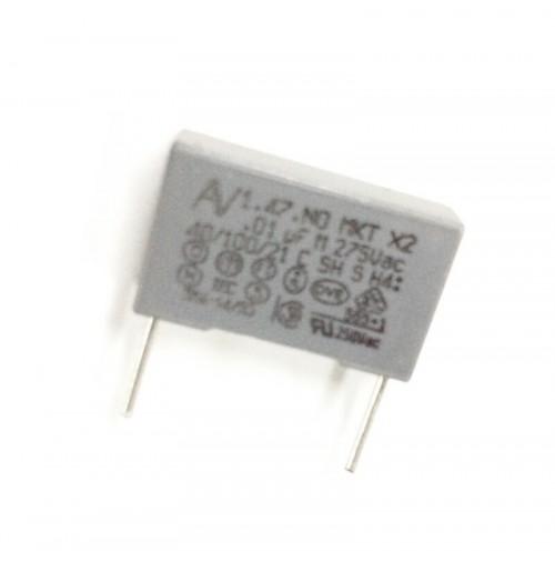 10nF (0.01uF) 275V M Condensatore Poliestere 5x18x10mm passo 15mm