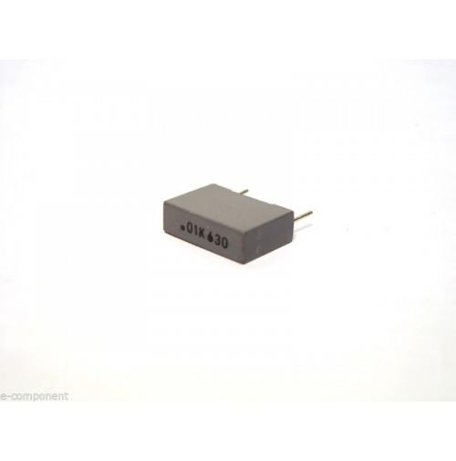 10nF 630V K Condensatore Poliestere 4x13x9mm passo 10mm - Arcotronics (2 pezzi)