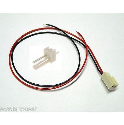 10x Cavetto composto da 2 connettori Maschio + Femmina PCB Rosso/Nero 0,25 Metri