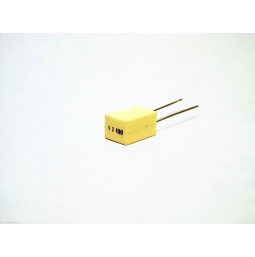 1uF 100V 5% J Condensatore Poliestere 6x7,5x11mm passo 5mm - Arcotronics