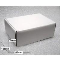 25 pezzi - Scatole in cartone colore Bianco dimensioni 160 x 105 x 55mm