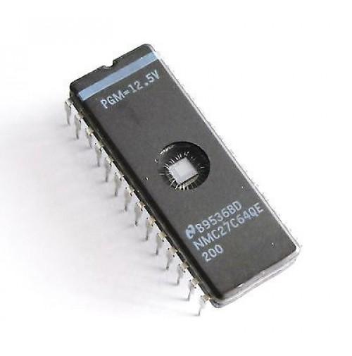 27C64QE-200 (27C64) - Case: CER-DIP28 + Servizio di Programmazione