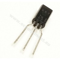 2SD667AC TRANSISTOR NPN TO92