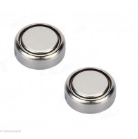 2x Batterie 1,5V AG5 LR48 LR754 Battery Button Silver Gel - Watch Hearing
