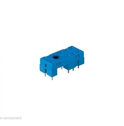 2x ZOCCOLO SERIE 95 MOD. 95.15.2 PER RELE' FINDER 4052 (conf. 2 Pezzi)