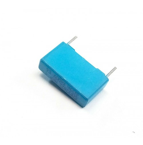 39nF (0.039uF) 400V MKP K Condensatore Poliestere 5x18x10mm passo 15mm