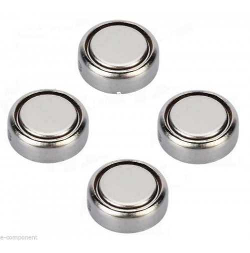 4x Batterie 1,5V AG1 SR621SW LR621 LR6 Battery Button Silver Gel - Watch Hearing