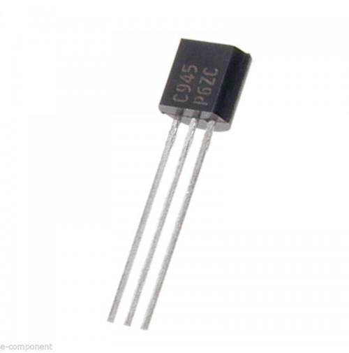 5 Pezzi Transistor 2SC 945 - 2SC945 NPN 50V 150mA 250mW