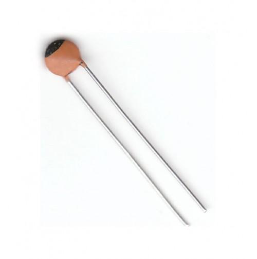 5 pezzi - Condensatori Ceramici 4,7pF 50V NP0 passo 3,5mm