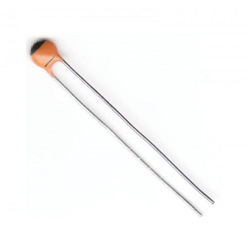 5 pezzi - Condensatori Ceramici Radiali 47pF 50V NP0 passo 2,5mm