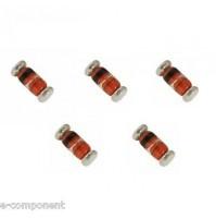 5V1 - Diode Zener 5V1 1/2W - SMD Case: Minimelf - 5 Pezzi/Pcs