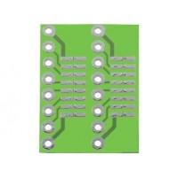 ADATTATORE PCB DA DIP6 / DIP16 >> SO6 / SO16