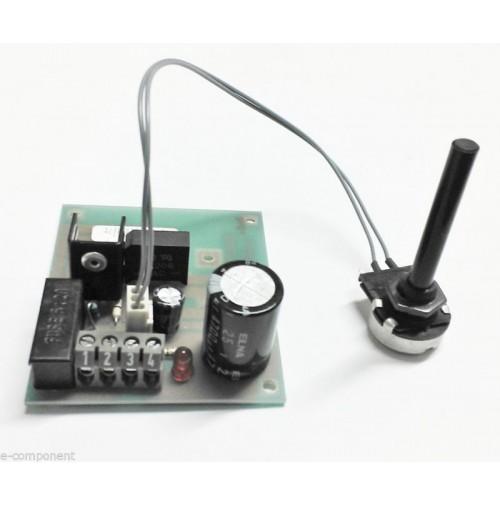 Alimentatore Lineare Regolabile da 1.25 a 15Vdc 1A con potenziometro esterno