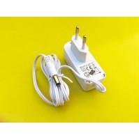 Alimentatore a Spina 4W- AC/DC Adaptor 100-240V~ Vout +12Vdc 300mA