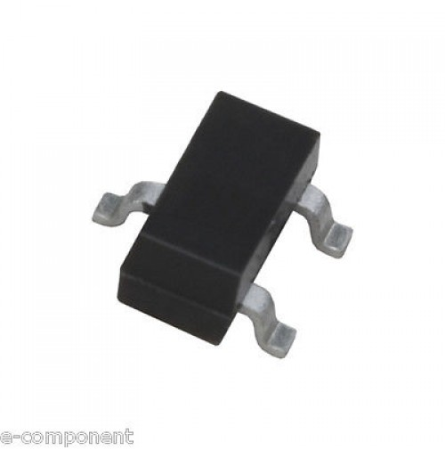BSS123 - N-Channel MOSFETs 170mA 100V - SMD Case: SOT-23  - 5 pezzi/pcs