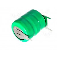 Backup Battery 3.6V NI-MH 80mA with terminals