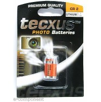 Batteria 3V AL LITIO (3V Battery LITHIUM) CR2 per fotocamera reflex Canon EOS300