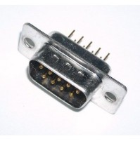 CONNETTORE D-SUB MASCHIO 9 PIN DA CS (DB-9)