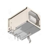 CONNETTORE USB 4 POLI DA CIRCUITO STAMPATO