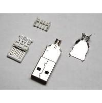 CONNETTORE USB-A 4 POLI VOLANTE A SALDARE