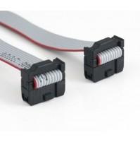Cavo Piatto Flat Cable 3M 10 poli con 2 connettori femmina - lunghezza 20 cm