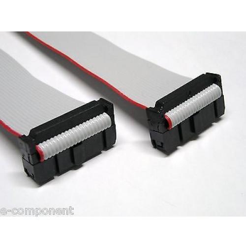 Cavo Piatto Flat Cable 3M 14 poli con 2 connettori femmina lunghezza cavo 100 cm