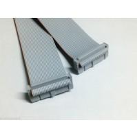 Cavo Piatto Flat Cable 3M 26 poli con 2 connettori femmina - lunghezza 30 cm