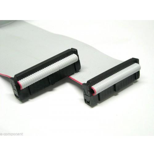 Cavo Piatto Flat Cable 3M 50 poli con 2 connettori femmina - lunghezza 50 cm
