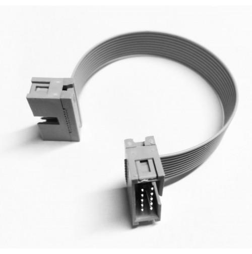 Cavo adattatore Flat Cable 3M 10 poli con 2 connettori M-M - lunghezza 10 cm