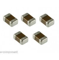 Ceramic monolithic capacitor 1uF 16V Y5V SMD case: 0805 - 5 Pezzi/pcs
