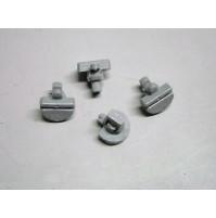 Chiusure plastiche da pannello (4 pezzi)