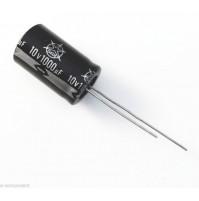 Condensatore Elettrolitico 1000uF 10V 85°C Radiale 13x21mm ISKRA