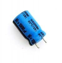 Condensatore Elettrolitico 1000uF 16V 85°C Radiale Ø10x20mm TAICON