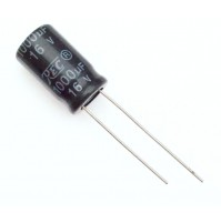 Condensatore Elettrolitico 1000uF 16V 85°C Radiale 13x18mm TREC
