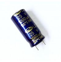 Condensatore Elettrolitico 1000uF 25V 105°C Radiale 10x22mm LZ SAMWHA