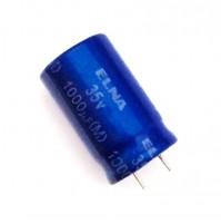 Condensatore Elettrolitico 1000uF 35V 85°C Radiale 13x20mm ELNA