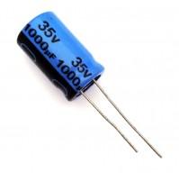 Condensatore Elettrolitico 1000uF 35V 85°C Radiale 13x20mm JH