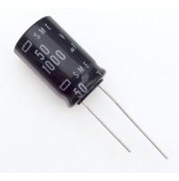 Condensatore Elettrolitico 1000uF 50V 85°C Radiale 16x26mm SME