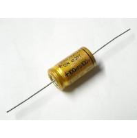 Condensatore Elettrolitico 100uF 100V -40/+105°C Assiale Made in Germany