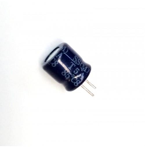 Condensatore Elettrolitico 100uF 16V 85°C Radiale 6x7,5mm SAMXON (4 Pezzi)