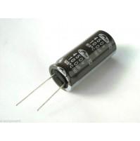 Condensatore Elettrolitico 100uF 450V 105°C dim. 18x40mm Radiale