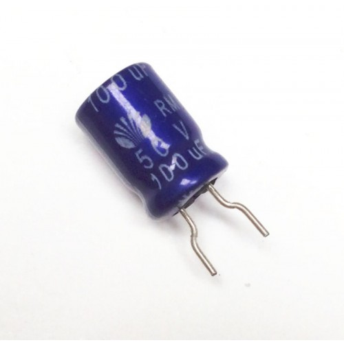 Condensatore Elettrolitico 100uF 50V 85°C Radiale 8x13mm DAEWOO (2 pezzi)
