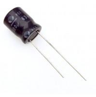 Condensatore Elettrolitico 100uF 63V 85°C Radiale Ø10x14mm DAEWOO
