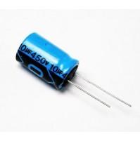Condensatore Elettrolitico 10uF 450V Radiale