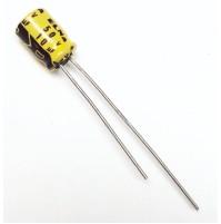 Condensatore Elettrolitico 10uF 50V 85°C Radiale 5x8mm ELNA (2 pezzi)