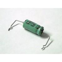 Condensatore Elettrolitico 10uF 63V 85°C 13x6mm Assiale Performato (3 Pezzi)
