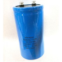 Condensatore Elettrolitico 110000uF (0,11 Farad) 30V 85°C a Vite SPRAGUE
