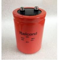 Condensatore Elettrolitico 1500uF 450V +85°C Ø77x104mm a Vite ITELCOND