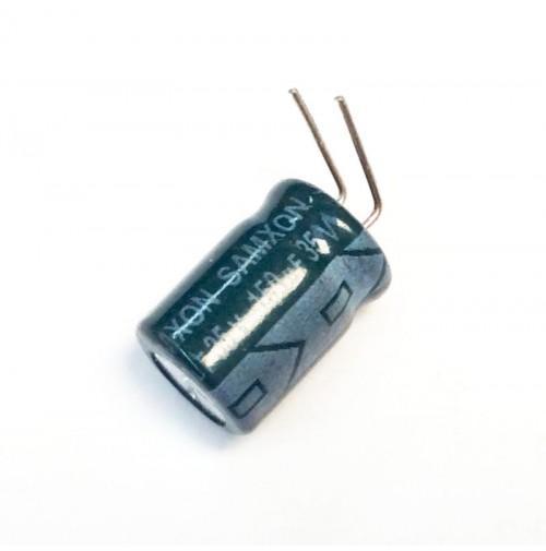 Condensatore Elettrolitico 150uF 35V 105°C Radiale 10x13mm Samxon - 2 Pezzi